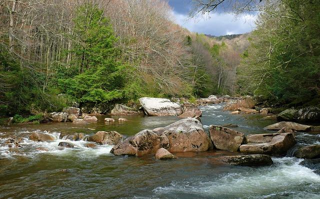 peřeje řeky