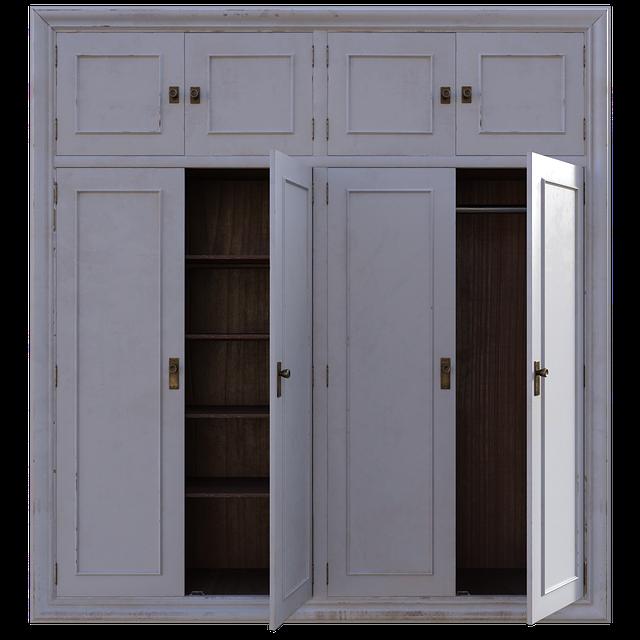 Vhodné skříně do malého bytu