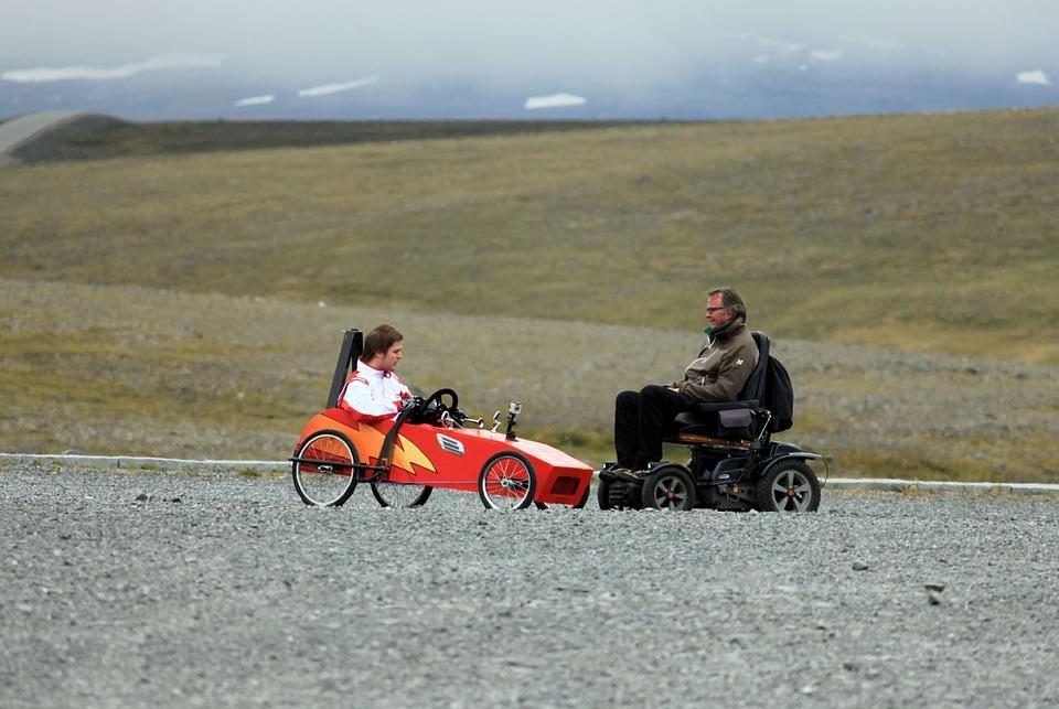 Spolehlivé elektrické invalidní vozíky